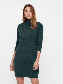 Brilliant turtleneck sweater dress