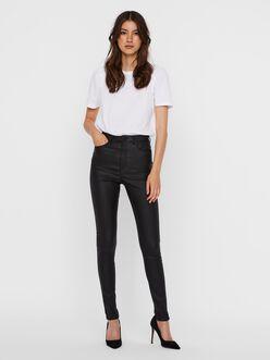 Loa high waist skinny fit coated pants