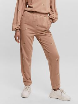 Natalie high waist embroidered sweatpants