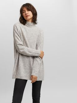 Plaza loose fit high neck sweater