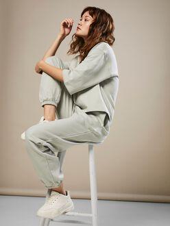 AWARE |Prime high waist elastic ankle sweatpants