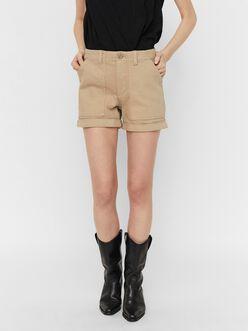 Utility mid-waist shorts