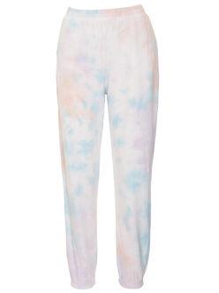 Hella elastic waist tie-dye sweatpants