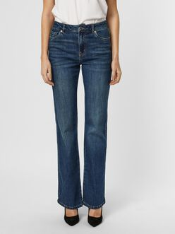 Saga high waist flare fit jeans