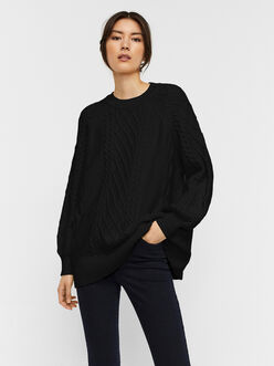 AWARE | Row oversized cable knit sweater